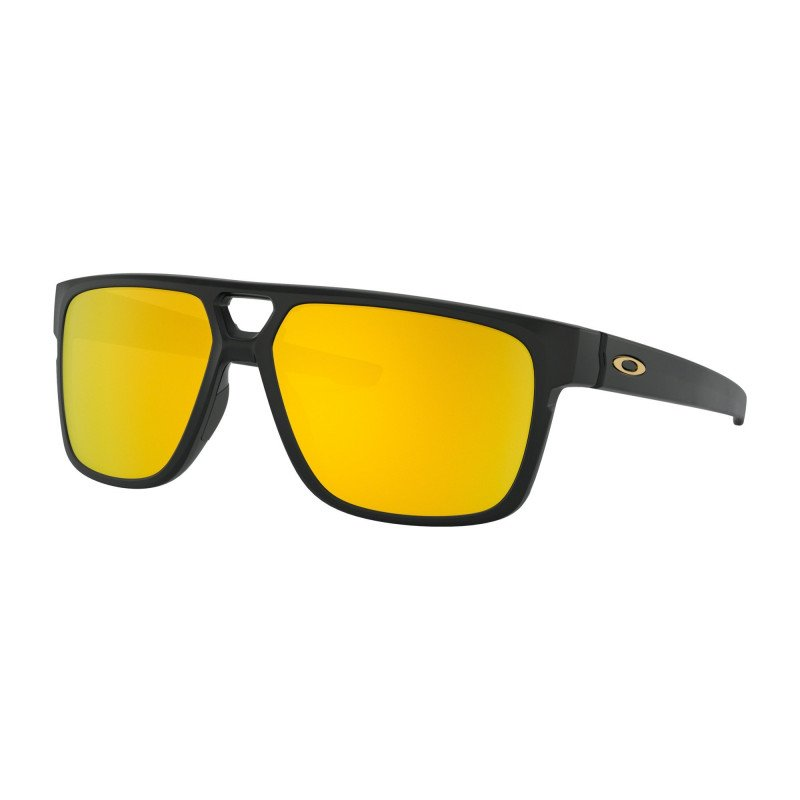 OAKLEY CROSSRANGE SHIELD MATTE BLACK 24K IRIDIUM OO9387-06