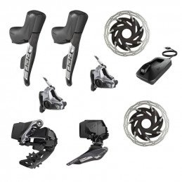 SRAM RED eTap AXS 2x12-speed Elektronic Kit POST MOUNT
