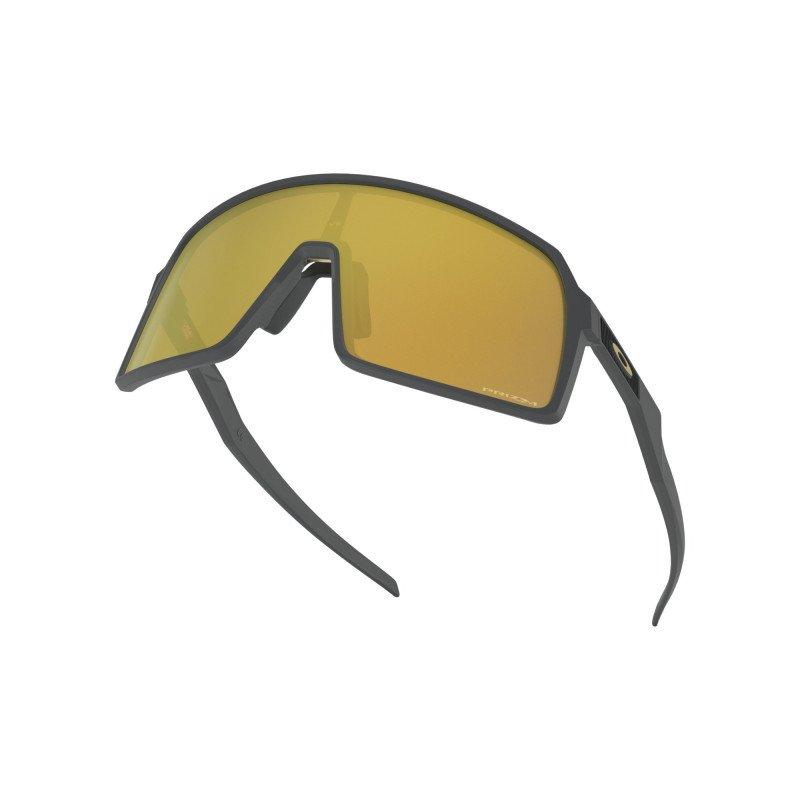 Lunettes Oakley Sutro Matte Carbon Prizm 24k OO9406-0537