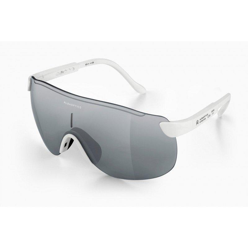 Lunettes ALBA Stratos Black Silver Glasses