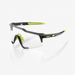 LUNETTES 100% Speedcraft Gloss Black Photochromic Lens