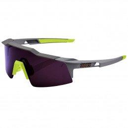 100% Speedcraft Short - Soft Tact Midnight Mauve Dark Purple Lens