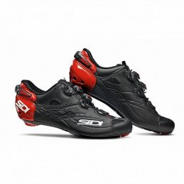 Chaussures Sidi Shot Black Red Blacl Matt