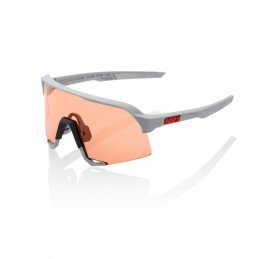 Lunettes 100% S3 Brille Soft Tact Stone Grey