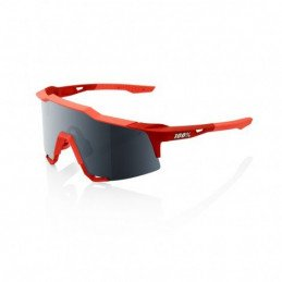 LUNETTES 100% Speedcraft Brille Tall Soft Tact Coral