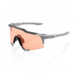 LUNETTES 100% Speedcraft Brille Tall Soft Tact Stone Grey