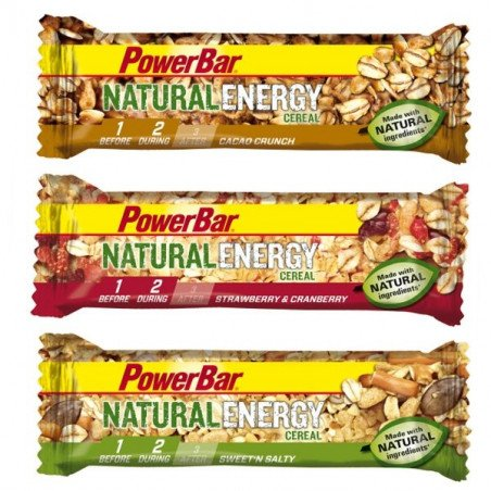 PowerBar Bar Natural Energy - Cereal (10x40gr)