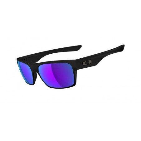 Lunettes Oakley TWOFACE™ OO9189-08 Matte Black/Violet Iridium