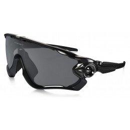 Lunettes Oakley Jawbreaker OO9290-01 polished black black iridium