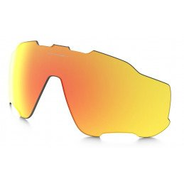 Verre Oakley Jawbreaker Fire polarized Iridium