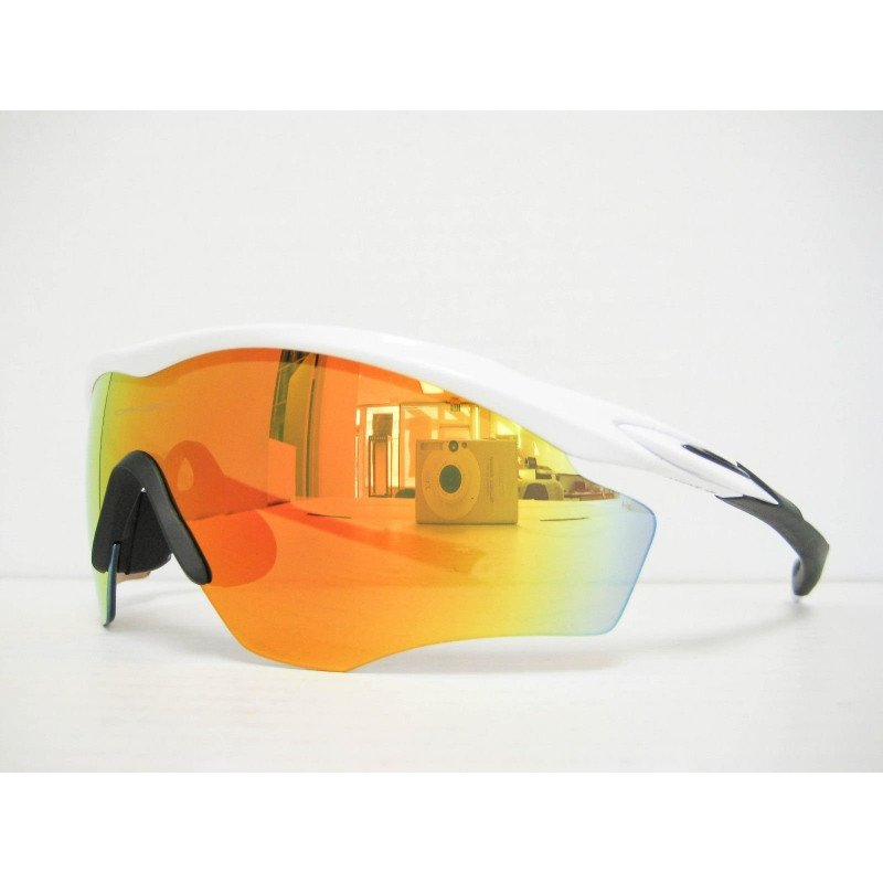 Lunettes Oakley M2 Frame Xl Polished White Fire Iridium