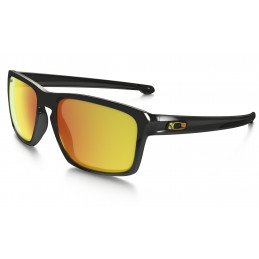 Lunettes Oakley Sliver Vr46 Polished Black Fire oo9262-27