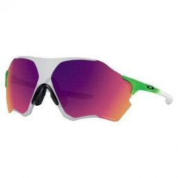 Oakley EVZero - Olympic Collection Rio 2016 - Green Fade/PRIZM Field + Chrome Iridium Glasses - OO9308-09