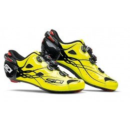 Chaussures Sidi Shot Yellow Fluo
