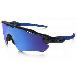 Lunettes Oakley Radar EV Polished Black Sapphire Iridium TEAM COLORS OO9208-20