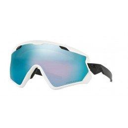 Lunettes Oakley Wind Jacket 2.0 Matte WHite Prizm Sapphire Iridium Snow OO7072-01