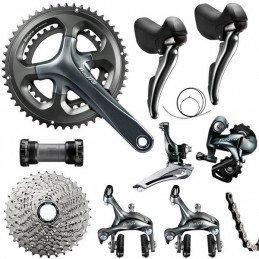 Groupe vélo route Shimano Tiagra 4700 2x10v