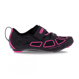 Chaussures Spiuk Trivium Triathlon blanc orange noir