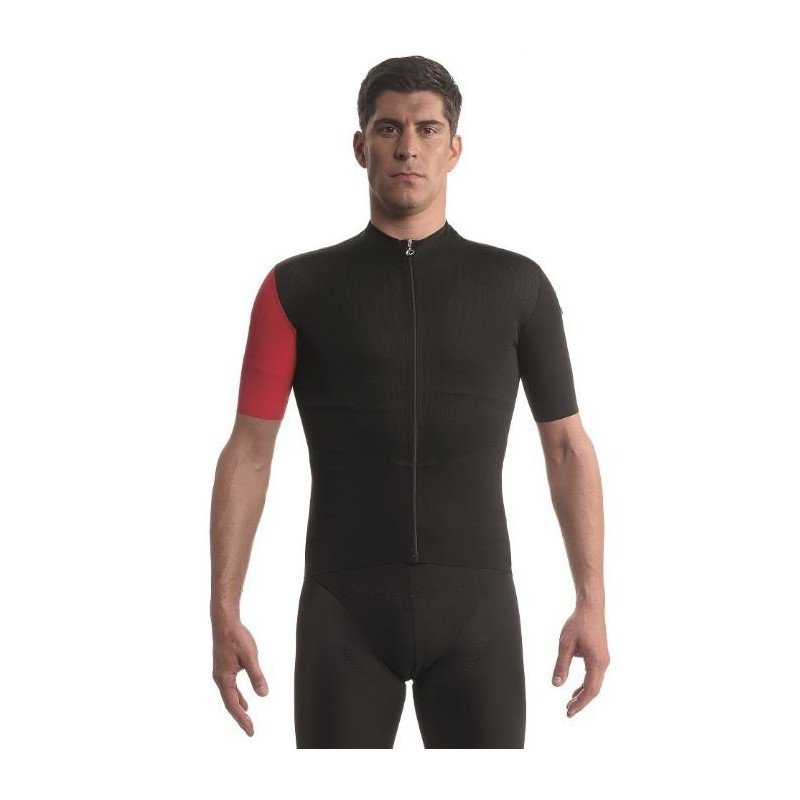Maillot ASSOS SS cento Jersey evo8 rouge