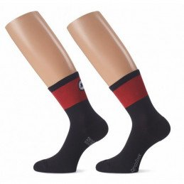 Socquettes ASSOS Cento Socks evo8 Rouges