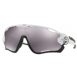 Lunettes Oakley Jawbreaker prizm black polished white OO9290-29