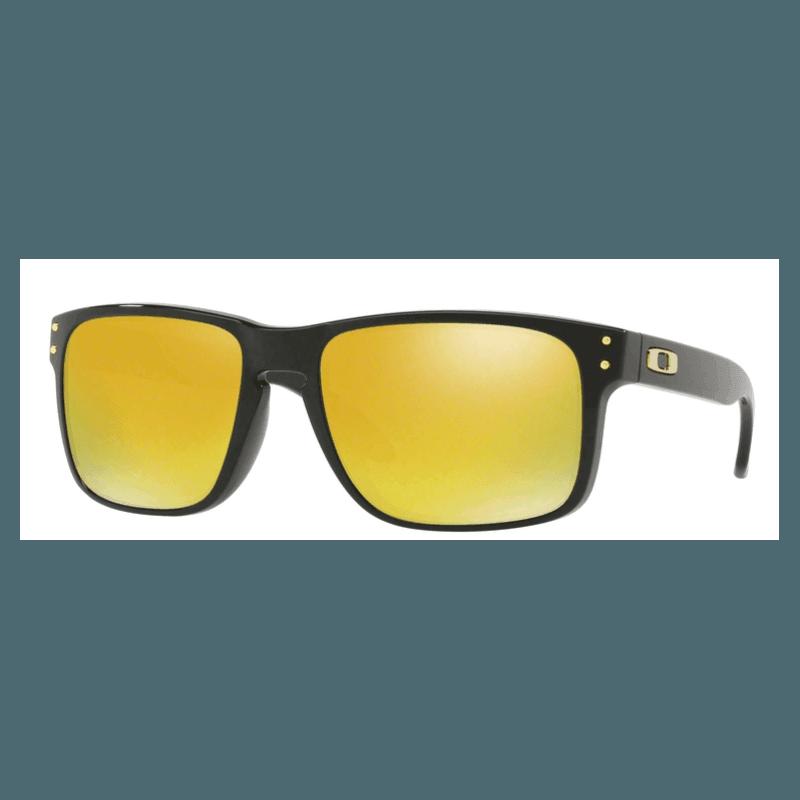 Oakley Holbrook Polished Black 24k iridium 9102E3