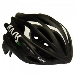 Casque de route Kask Mojito Black Mate Yellow