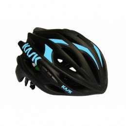 Casque de route Kask Mojito Black Mate red