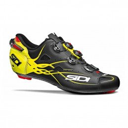 Chaussures Sidi Shot Noire Mate Yellow 2018