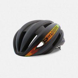 Casque Giro Synthe MIPS Mat Black Fire Chrome