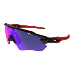 Lunettes Oakley Radar EV Black +Red Iridium OO9208-38