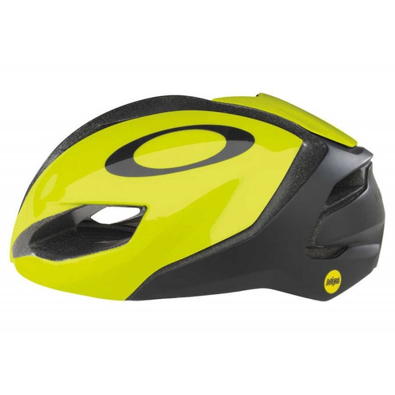 cdb2cc09f3c407 Casque Oakley Aro 5 Team DImension DataCasque Oakley Aro 5 Yellow ...