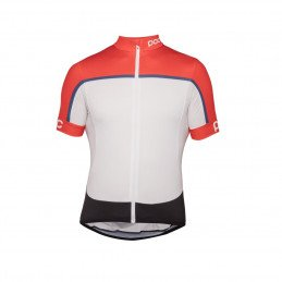 Maillot POC essential road block jersey