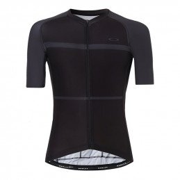 Maillot Oakley Colorblock Road noir