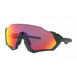 Lunettes Oakley FLIGHT JACKET Polished Black Prizm Road OO9401-0137