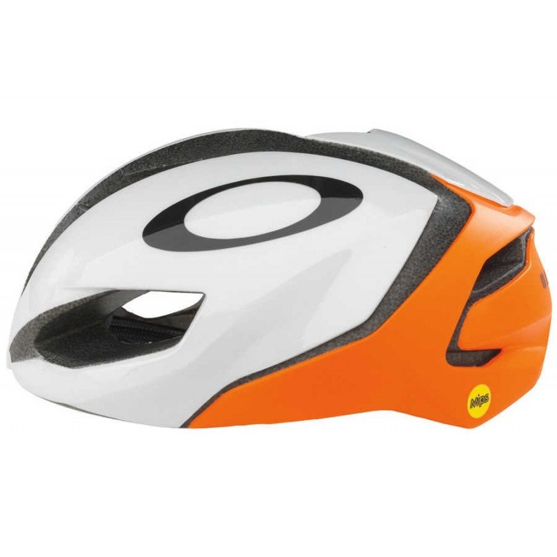 Casque Oakley Aro 5 Blanc Orange MIPS