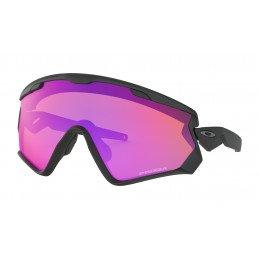 Lunettes Oakley Wind Jacket 2.0 Matte Black Prizm Trail OO9418-1145