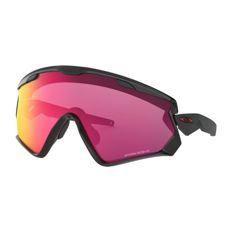 Lunettes Oakley Wind Jacket 2.0 Matte Black Prizm Lunettes Oakley Wind Jacket 2.0 Black Prizm Road OO9418-1245