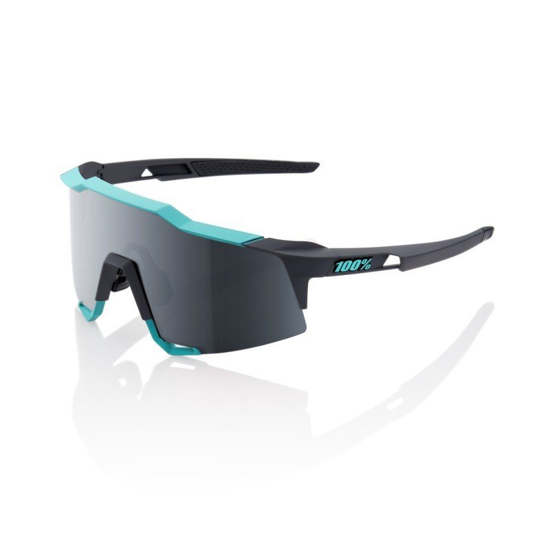 LUNETTES 100% Polished Black / Fluorescent Yellow