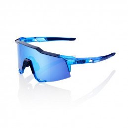LUNETTES 100% Polished Translucent Crystal GreyPolished Translucent Crystal Blue