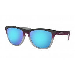 OAKLEY Frogskins™Splatterfade Collection Black PInk Prizm Sapphire OO9013-F055