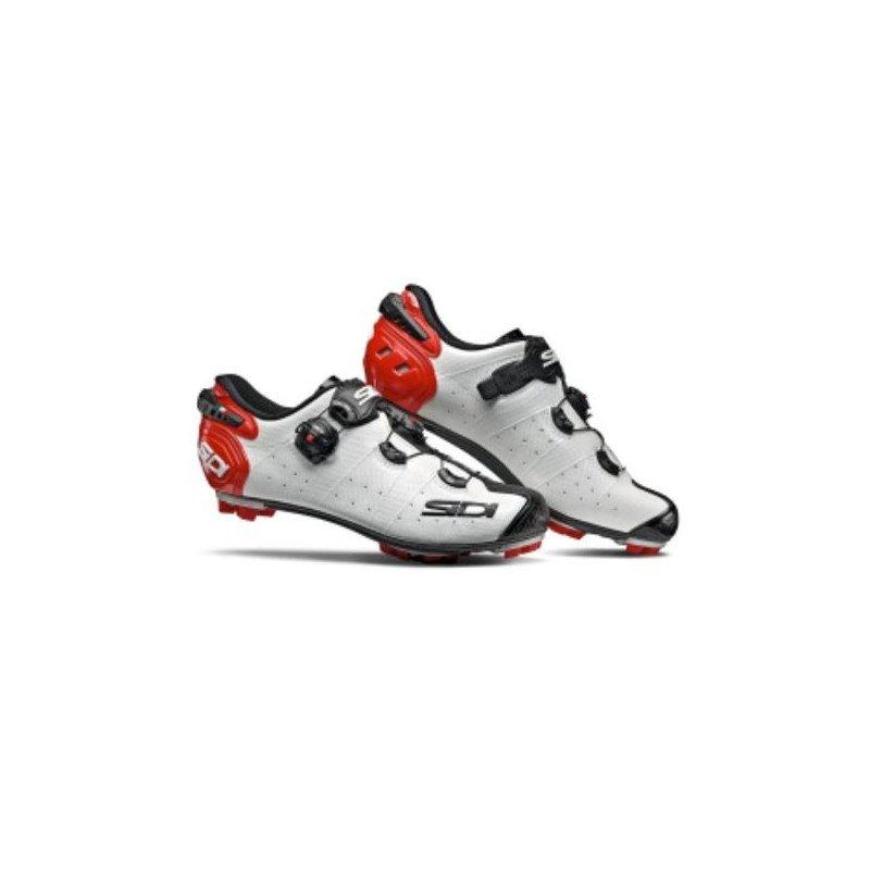 Chaussures Sidi Drako 2 SRS White Black Red