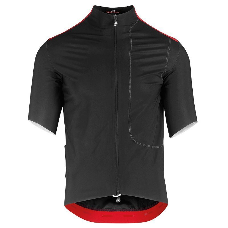 Maillot Assos LIBERTY RS23 Thermo Rain Jersey - blackSeries
