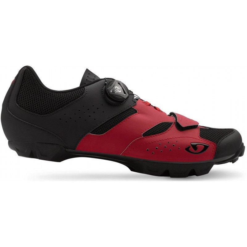 Chaussures Giro Giro Giro Cylinder rouge noir ca8c57