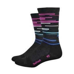 Chaussette Defeet Wooleator 6 pouces DNA
