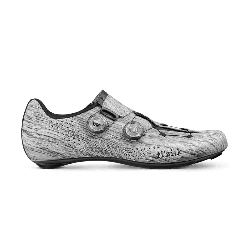 CHAUSSURES VÉLO ROUTE FIZIK INFINITO R1 KNITTED SILVER